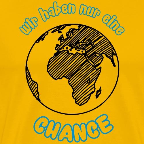 erde - Männer Premium T-Shirt