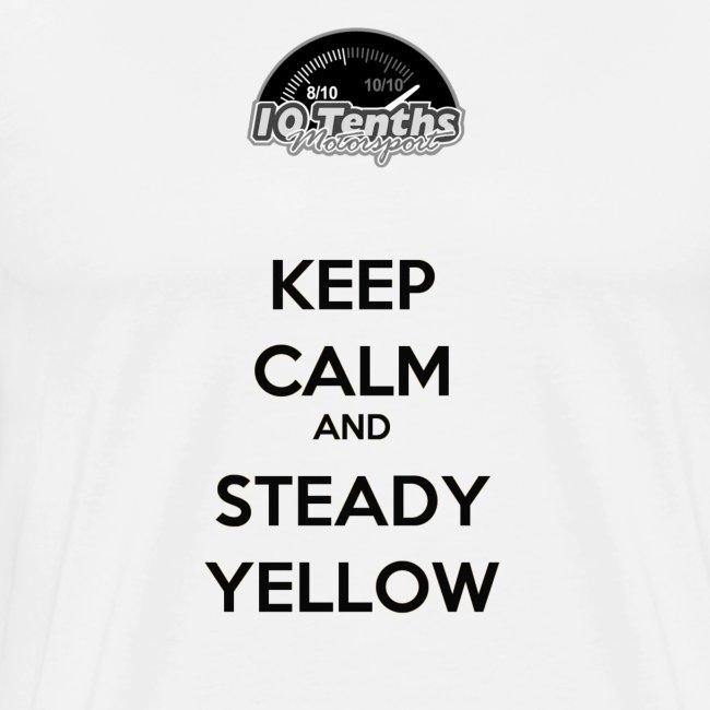 Keep Calm and Steady Yellow