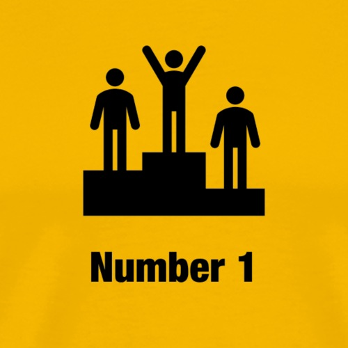 Number one - Männer Premium T-Shirt