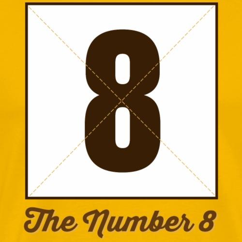 Eight8 Marplo - Maglietta Premium da uomo