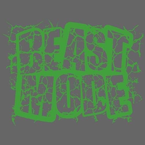 BEAST MODE VERDE 2 - Camiseta premium hombre