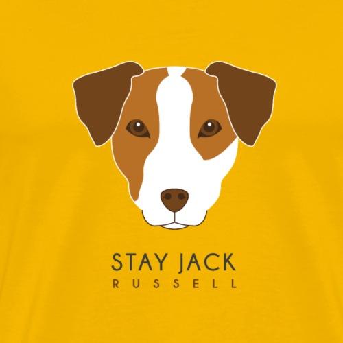 Jack Russell Dark - Maglietta Premium da uomo