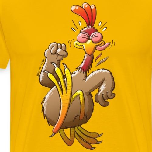 Chicken Running - Men's Premium T-Shirt