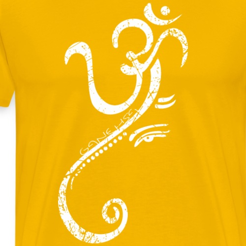 Ganesha Geschenk - Männer Premium T-Shirt