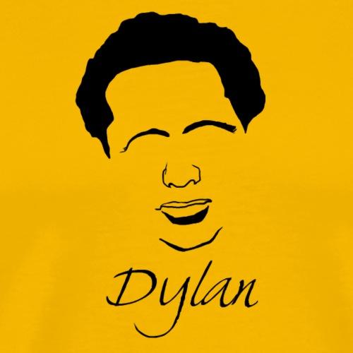 Dylan Thomas Silhouette - Men's Premium T-Shirt