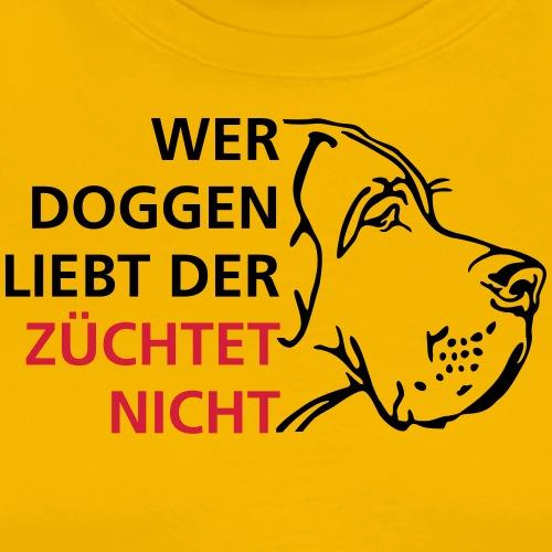 Wer Doggen liebt der züchtet nicht - Männer Premium T-Shirt
