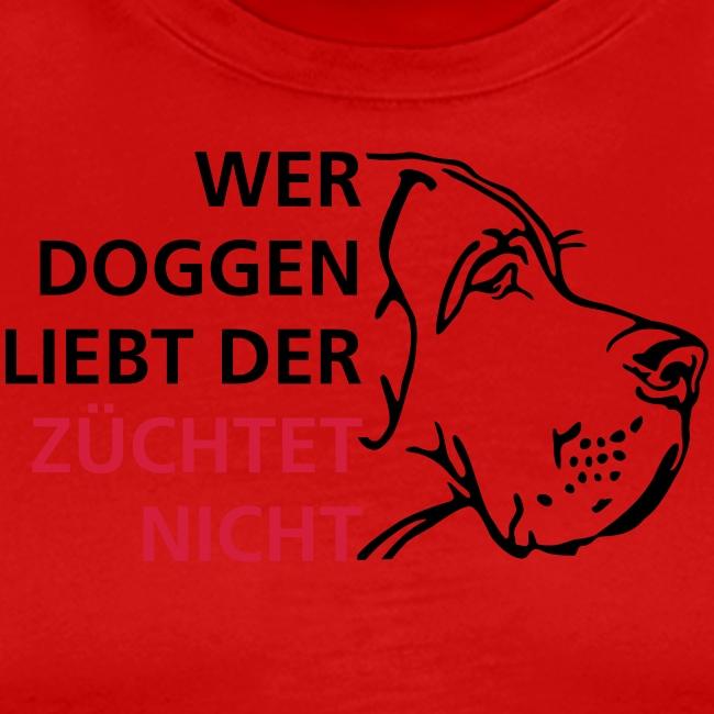 Wer Doggen liebt der züchtet nicht