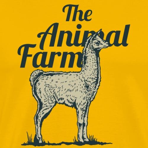 lama - Männer Premium T-Shirt