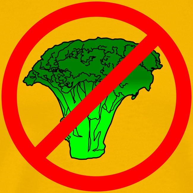 no broccoli allowed