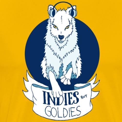 Indies But Goldies Wolf - Männer Premium T-Shirt