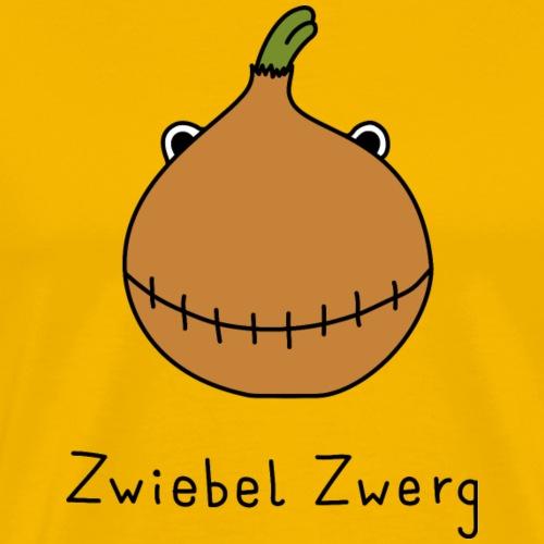 Zwiebel Zwerg - Männer Premium T-Shirt