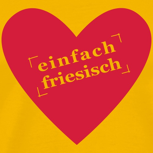friesenherz - Männer Premium T-Shirt