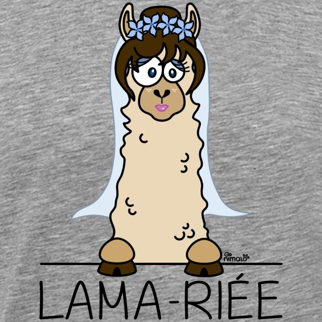 Lama, Lama-riée, Mariage, EVJF, mariée