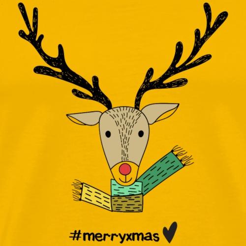 #merryxmas - Männer Premium T-Shirt