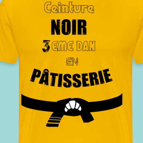 Patissier Judoka - T-shirt Premium Homme