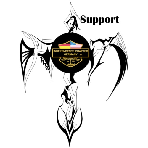 Support Indis Art Tattoo - Männer Premium T-Shirt