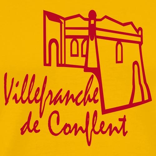 villefranche de conflent, frankreich, pyrenees de - Männer Premium T-Shirt