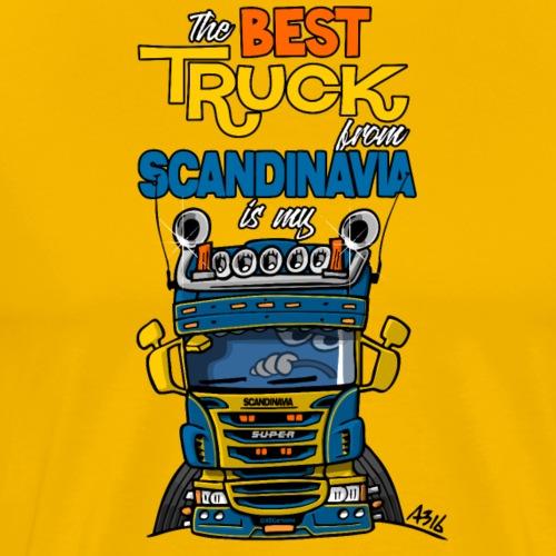 323 truck from Sweden - Mannen Premium T-shirt