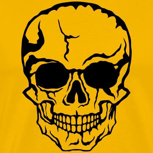 tete de mort halloween horreur dessin 21 - T-shirt Premium Homme