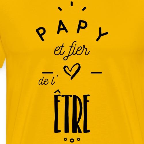 Papy et fier de l'être - T-shirt Premium Homme