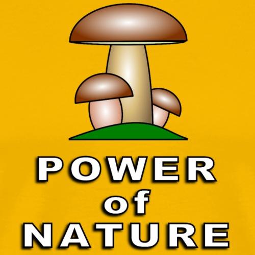 POWER OF NATURE - Männer Premium T-Shirt