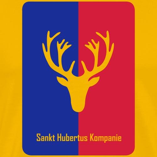 Sankt-Hubertus-ML-zweifarbig - Männer Premium T-Shirt