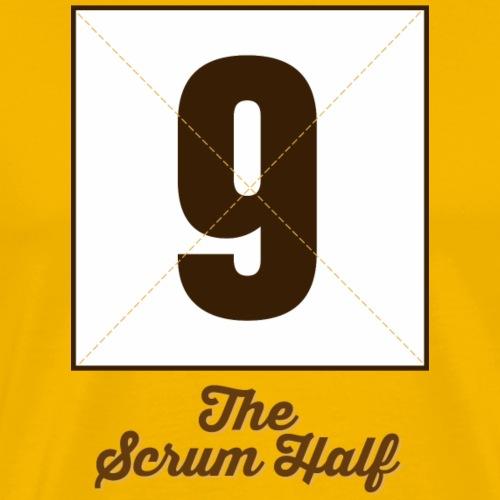 ScrumHalf9 Marplo - Maglietta Premium da uomo