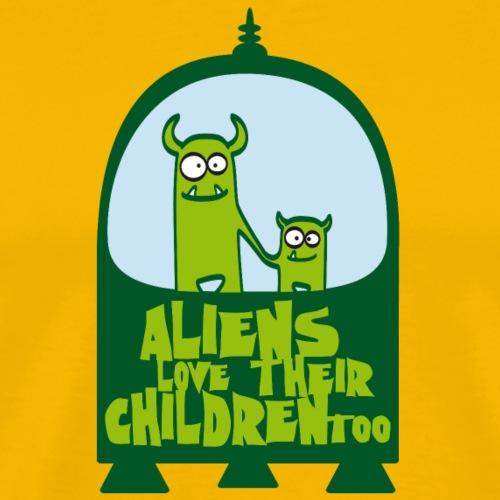ALIEN PARENTS - Maglietta Premium da uomo
