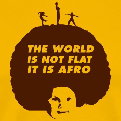 T-shirt, The World is Afro - Premium-T-shirt herr