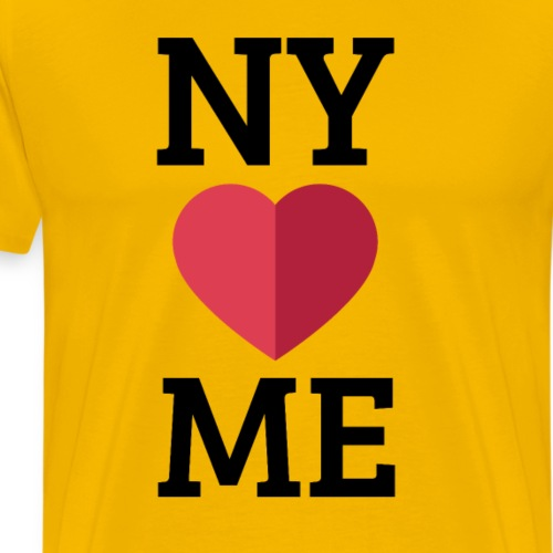 NY Loves Me - T-shirt Premium Homme