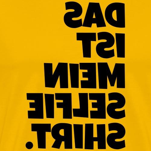 SelfieShirt - Männer Premium T-Shirt