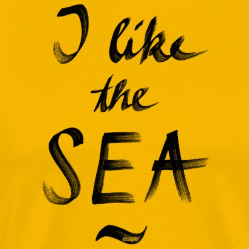 eissegler i like the sea - Männer Premium T-Shirt