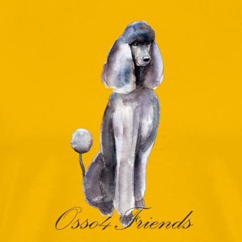 MISS POODLE - Maglietta Premium da uomo