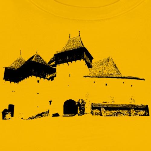 Deutsch-Weisskircher Burg monocolor - Männer Premium T-Shirt