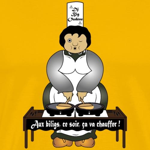 Dj bretonne - T-shirt Premium Homme