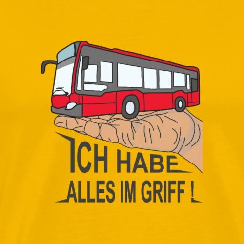Bus III schwarz - Männer Premium T-Shirt