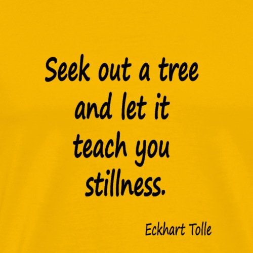 Tree for Stillness - Men's Premium T-Shirt