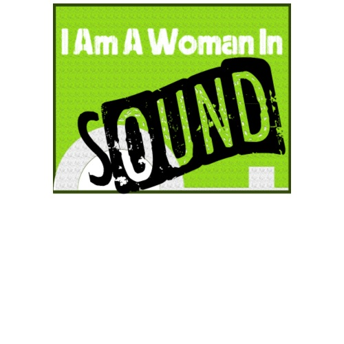 I am a woman in sound - Men's Premium T-Shirt