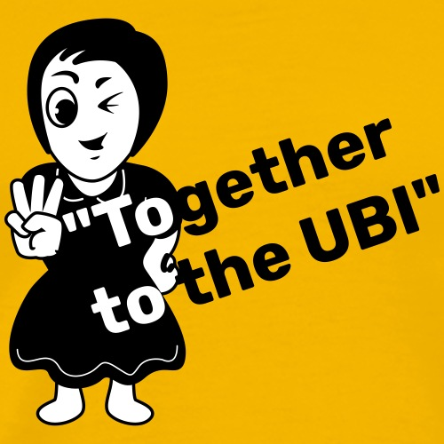 Together to the UBI - Men's Premium T-Shirt
