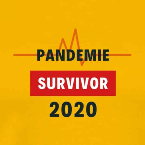 Pandemie Survivor - Männer Premium T-Shirt