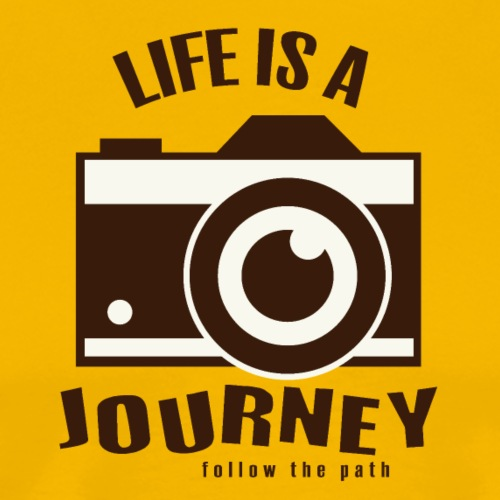 Life is a Journey - Männer Premium T-Shirt