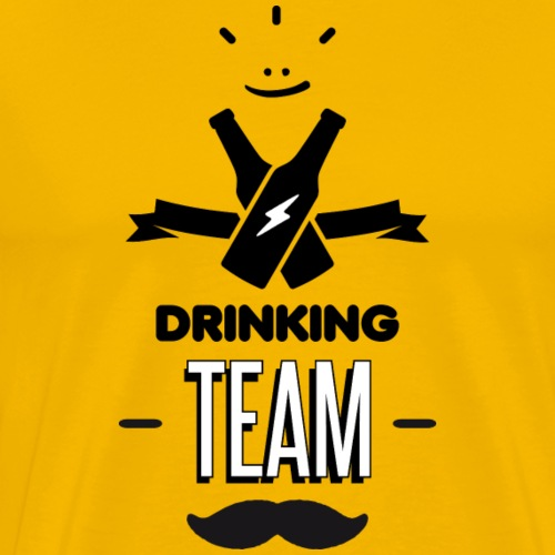 Drinking team-2 - T-shirt Premium Homme