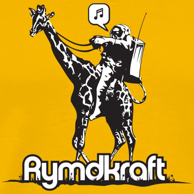 Rymdkraft Basic Happy Astronaut Tee