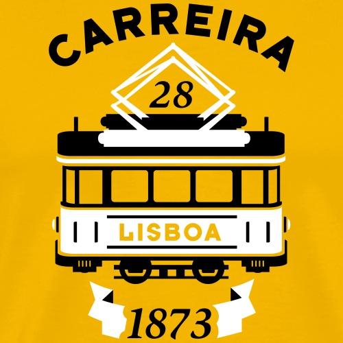 Tramway 28 Lisbonne Portugal - T-shirt Premium Homme
