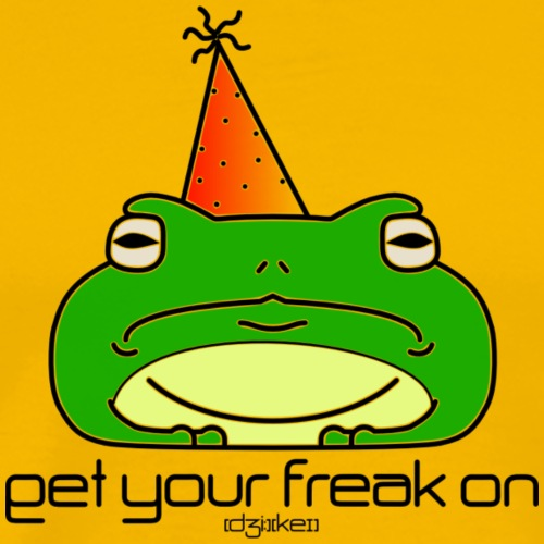get your freak on toad - Men's Premium T-Shirt