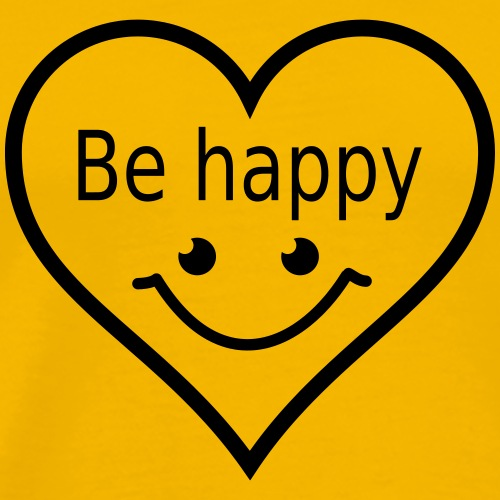 Be Happy - Men's Premium T-Shirt
