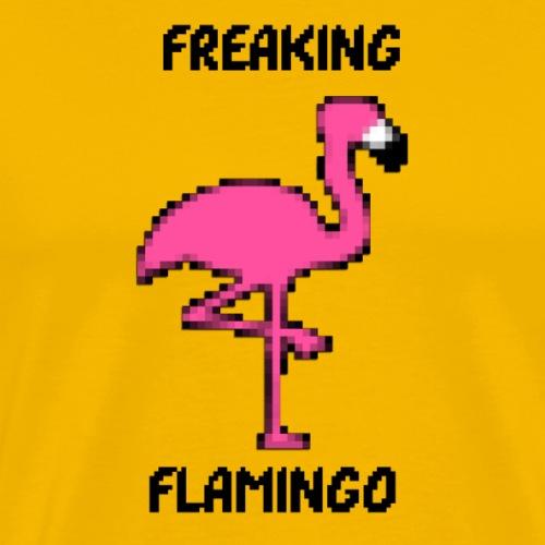 Freaking Pixel Flamingo