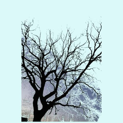 arbre noir - T-shirt Premium Homme