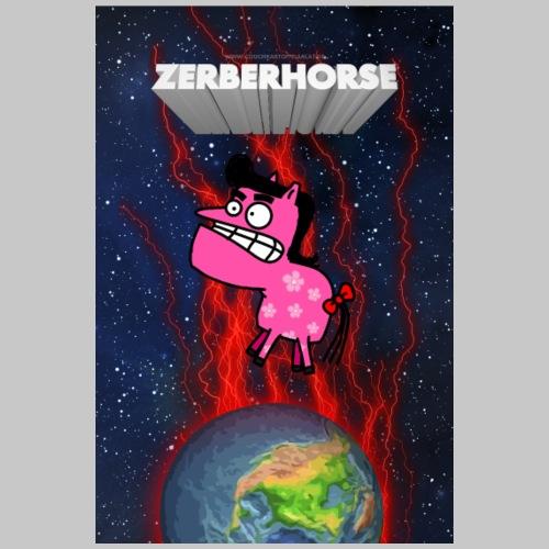 Zerberhorse Poster - Männer Premium T-Shirt