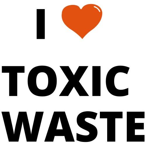 real genius i heart toxic waste